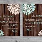 Kitchen Canvas Wall Art New Kitchen Art Set Canvas Sale Bless The Food Before Us And The Of Kitchen Canvas Wall Art