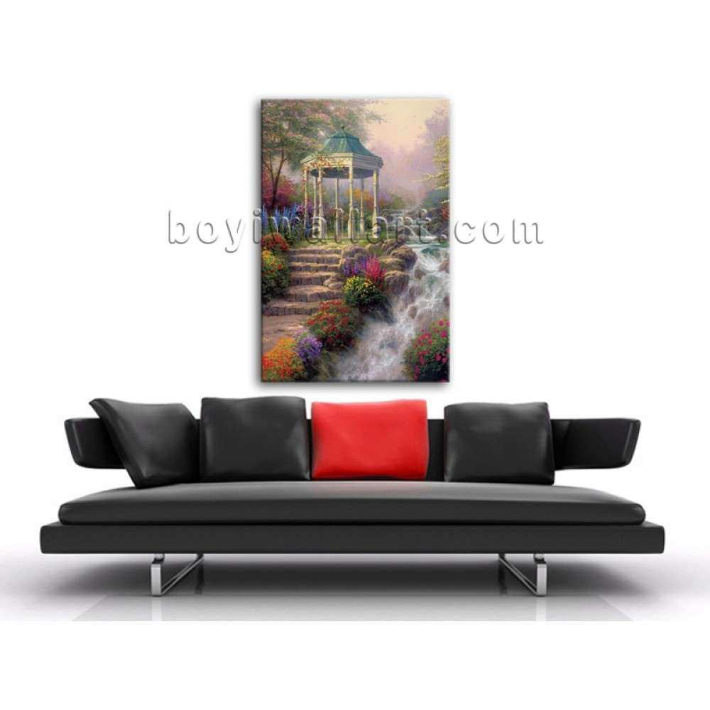 Classical Abstract Landscape Painting HD Print Canvas