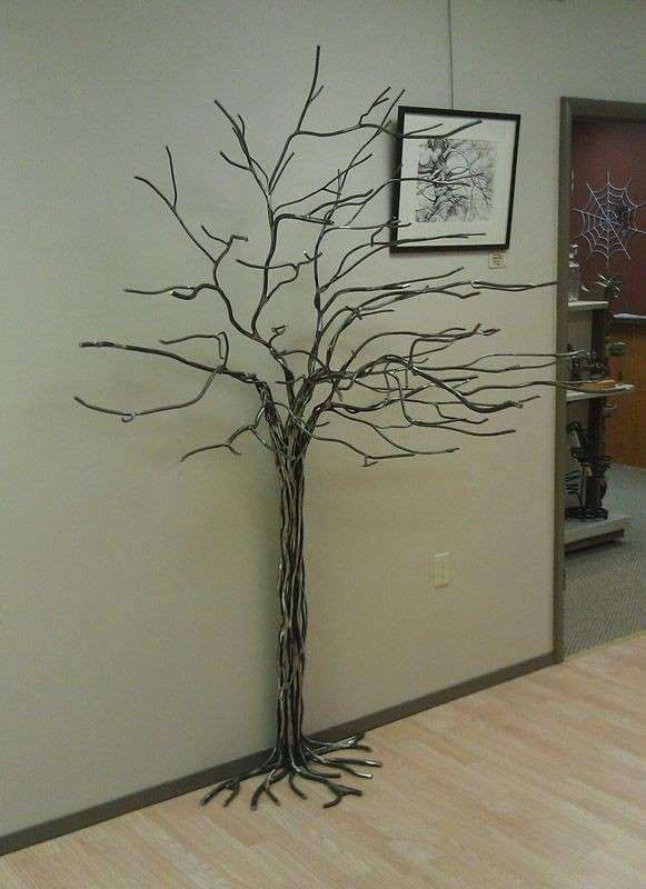 25 best ideas about Metal tree wall art on Pinterest