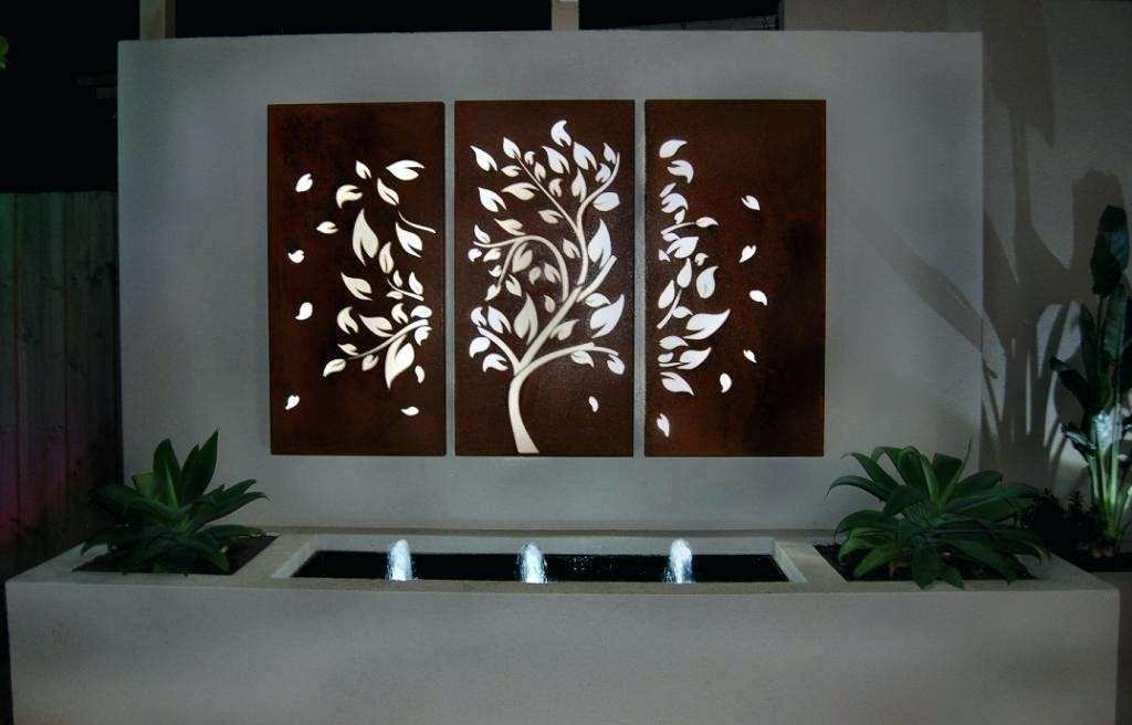 Large Outdoor Metal Wall Art Elegant Metal Garden Art Metal Garden Art  Sculptures Outdoor