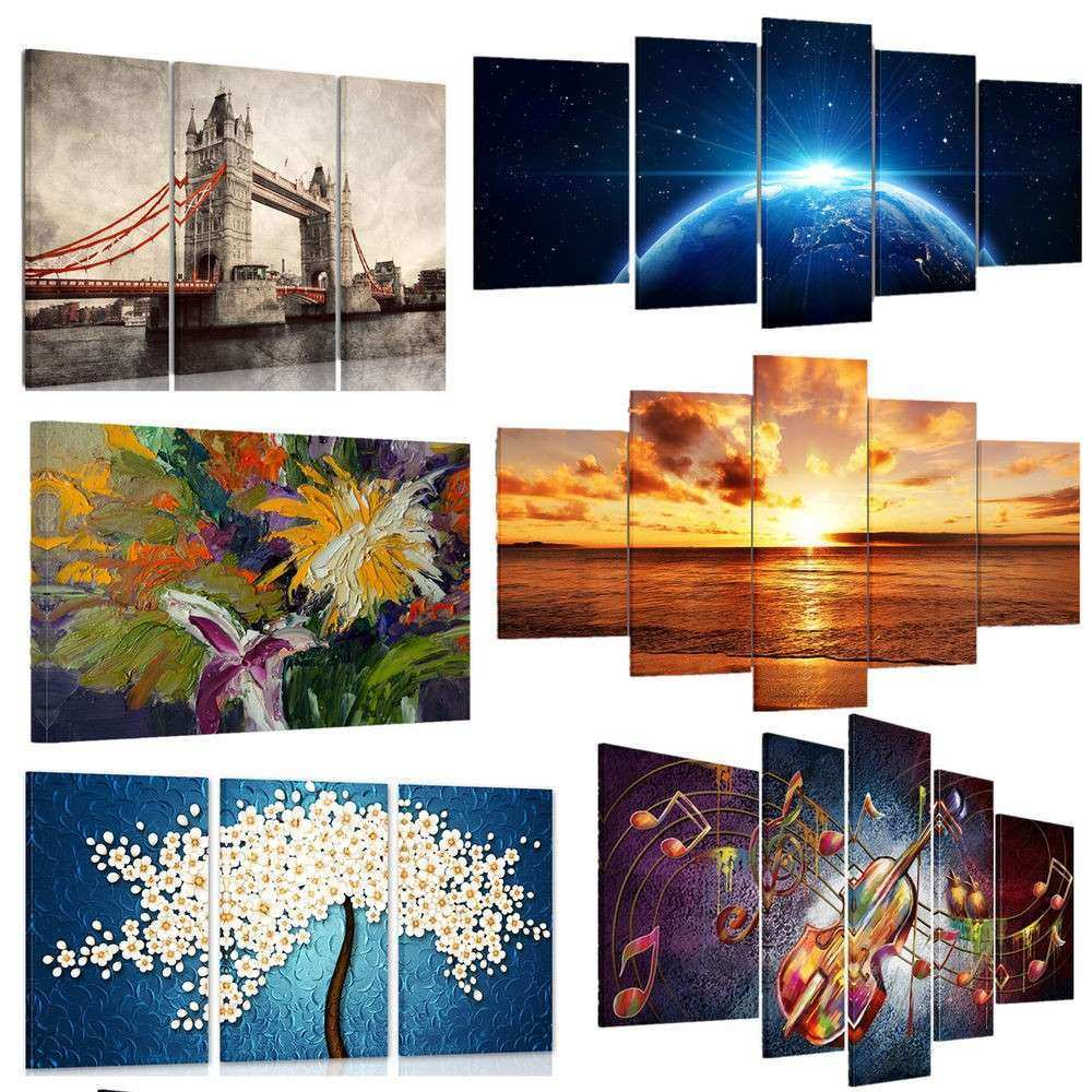 Large Wall Art Canvas Unique Us Modern Picture Hd Canvas Prints Wall Art Painting
