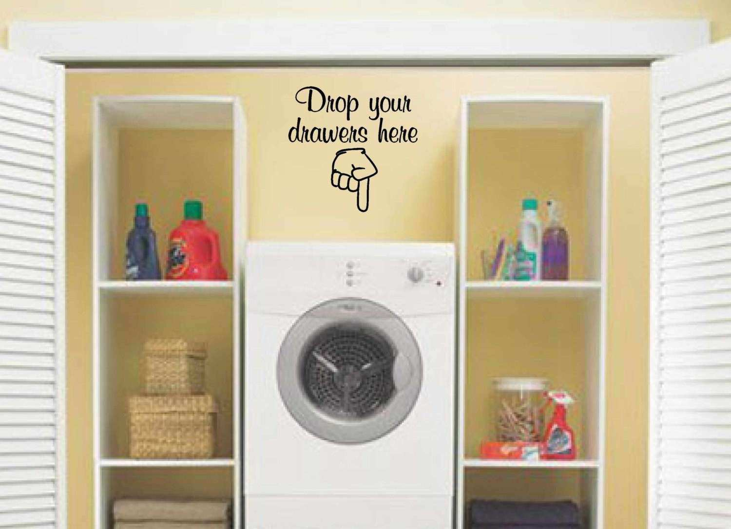 Laundry Room Wall Art Lovely Laundry Room Decor Wall Art Vinyl Decal ...