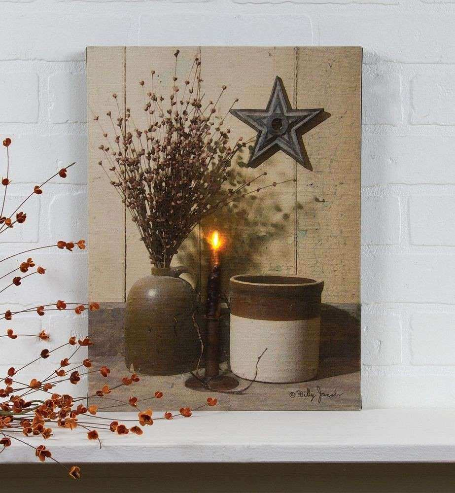 Billy Jacob Radiance Light Canvas Crocks & Stars wall art