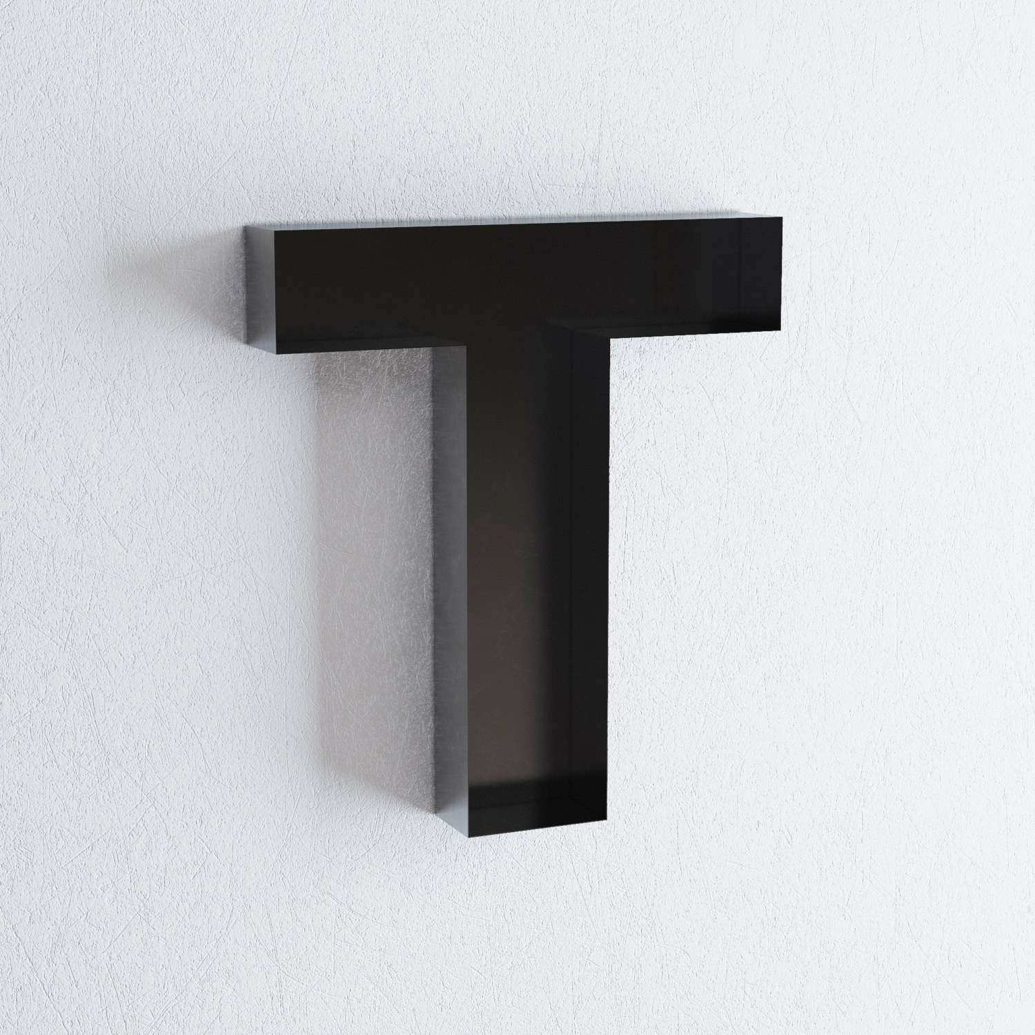 wall hanging letters T sign letter wall decor