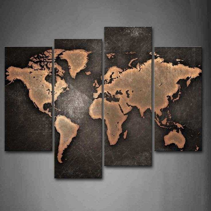 Best 25 World map painting ideas on Pinterest