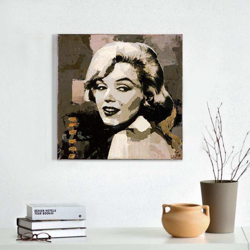 discount marilyn monroe abstract oil painting hand painted