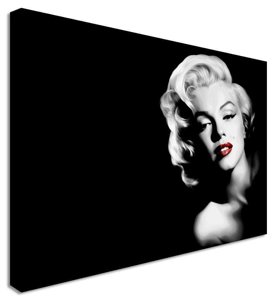 Marilyn Monroe Canvas Wall Art Picture