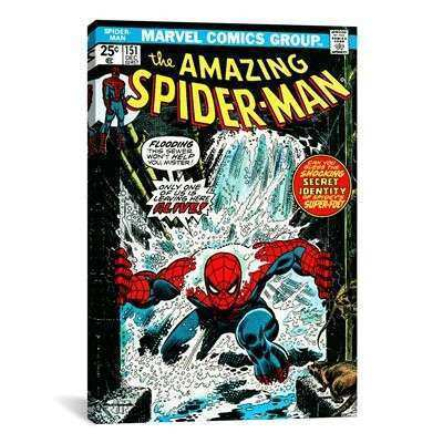 iCanvas MRV60 Marvel ic Book Spider Man Issue Cover