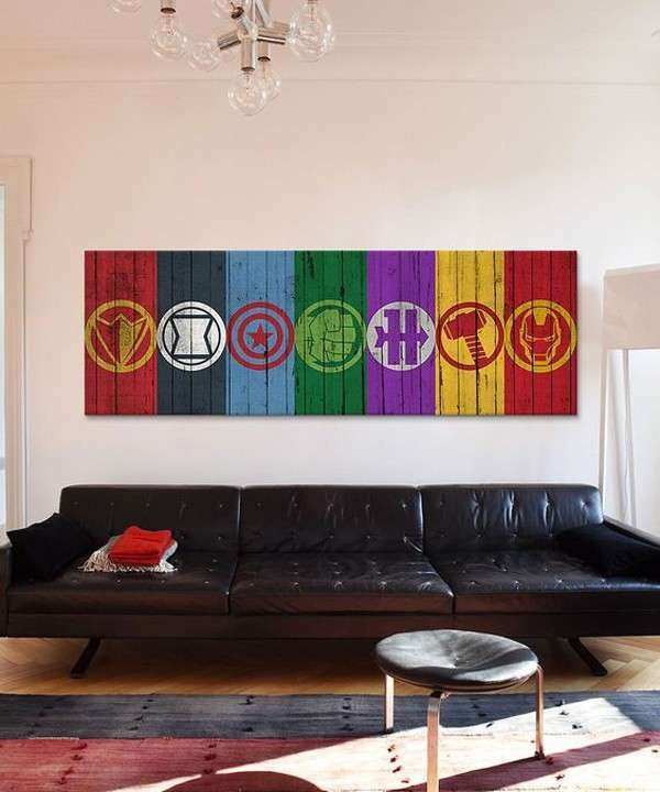 Marvel Wall Decor Awesome 10 Best Marvel Avengers Wall Decor Ideas
