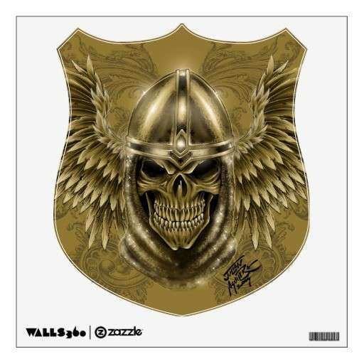 Medieval Wall Decor Beautiful Templar Knight Gothic Me Val Skull with Wings Wall Decor