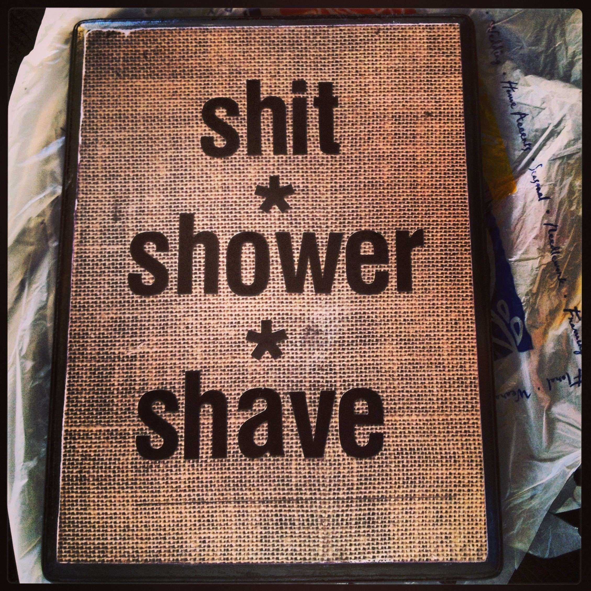 bathroom decor for the man cave Men s Style