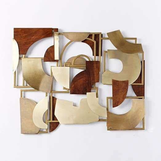 Christopher Wynter Metal Wood Wall Art