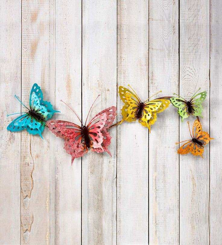 Metal butterfly Wall Art Unique 123 Best Wall Art Images On Pinterest