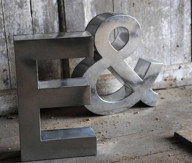 Metal Letter Wall Art Best Of Metal Letters for Wall Decor