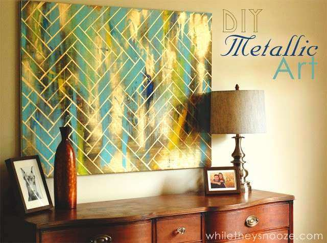 Fantastic Diy Art Projects For The Wall Composition - Wall Art ...
