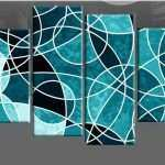 Multiple Piece Canvas Wall Art Luxury Details About Teal Large Abstract Canvas Wall Art Picture
