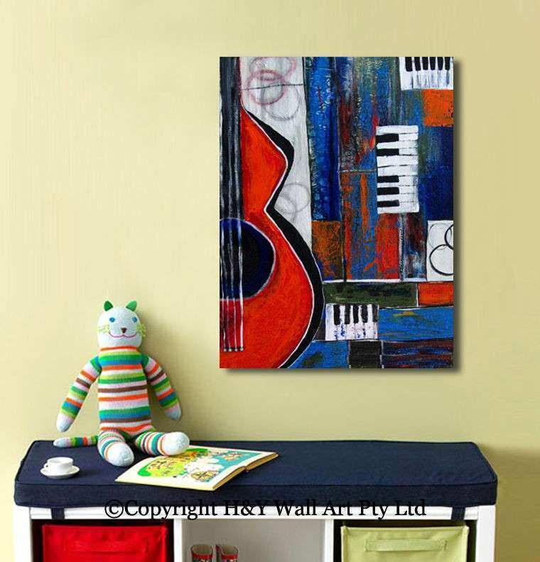 Dorable Metal Guitar Wall Art Composition - All About Wallart ...