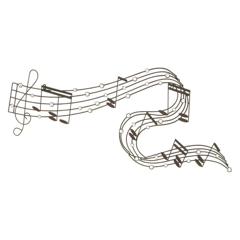 Musical Note Metal Wall Art Best Of Woodland Imports Musical Notes Metal Wall Sculpture 47w X 20h In Wall Art at Hayneedle