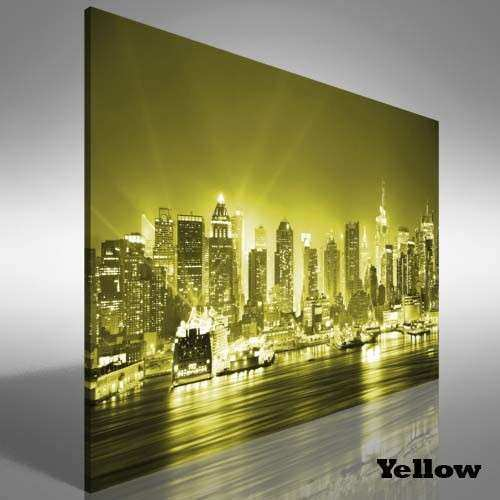 Manhattan New York City Canvas Print Picture Wall