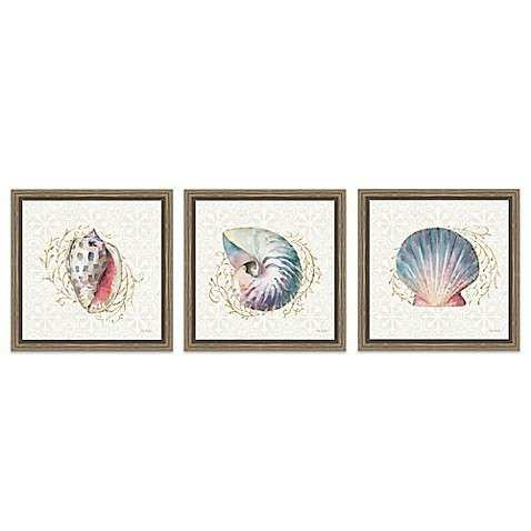 Ocean Dream Framed Canvas Wall Art Bed Bath & Beyond