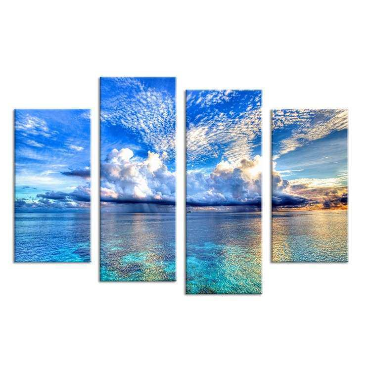 Ocean canvas wall art Chinese Goods Catalog