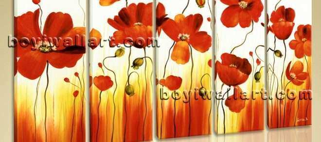 Oversized Canvas Wall Art Elegant Stretched Canvas Wall Art Prints Abstract Painting