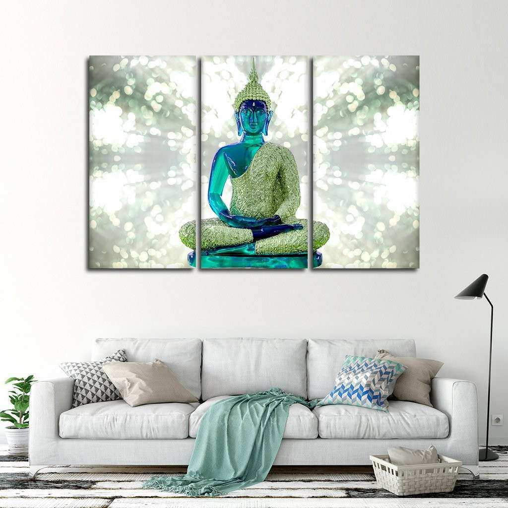 Emerald Energy Multi Panel Canvas Wall Art