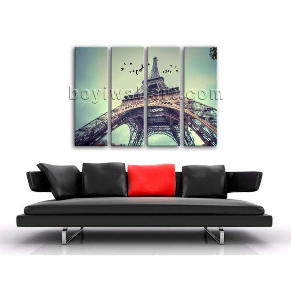 Abstract Landscape Painting Print Wall Art Canvas