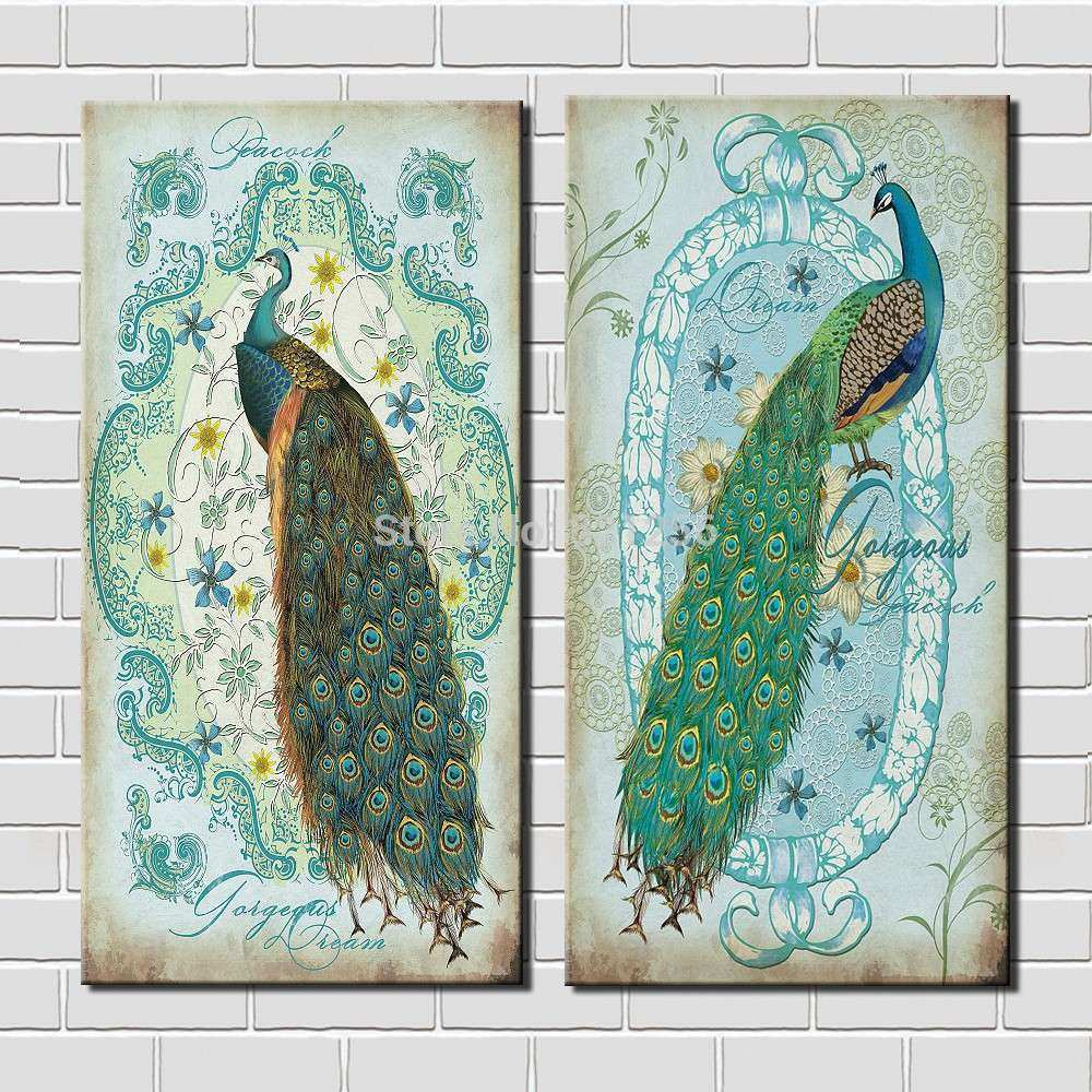 line Buy Wholesale peacock framed art from China peacock