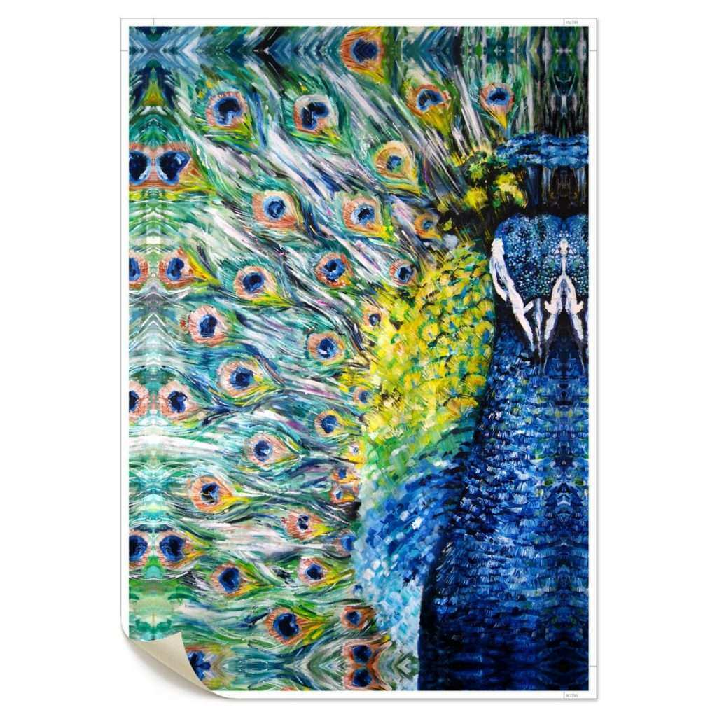 Peacock Canvas Wall Art Best Of Unframed Print Picture Canvas Animal Wall Art Painting