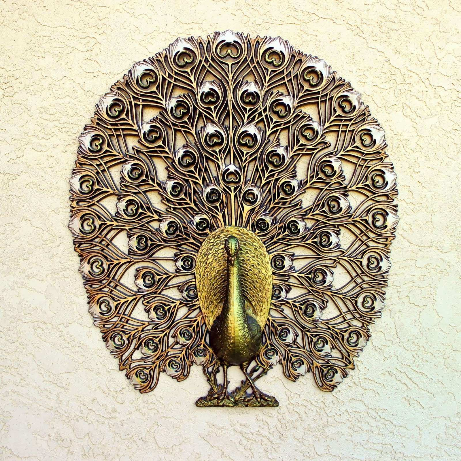 Beautiful Peacock Wall Art Inspirational Vintage Finds Peacock Wall Decor
