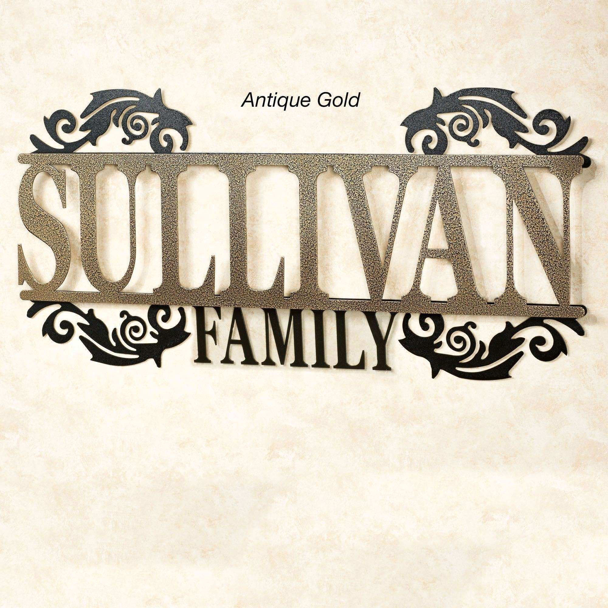 Legacy Family Personalized Metal Wall Art Sign by JasonW