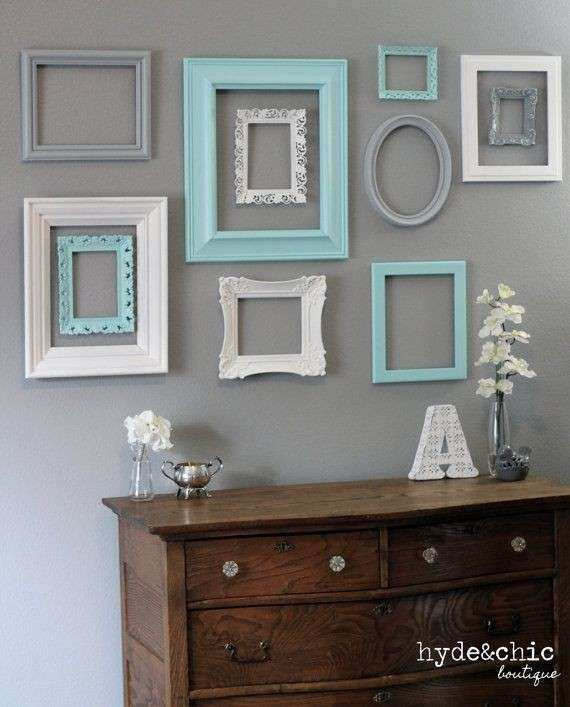 Picture Frame Wall Decor Luxury Best 25 Shabby Chic Wall Decor Ideas ...
