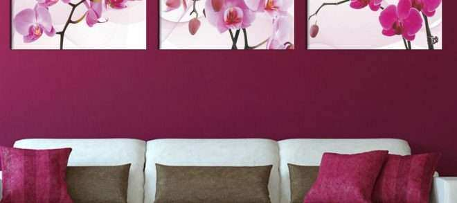 Pink Canvas Wall Art Best Of 3 Panel Pink Canvas Prints Canvas Art orchid Modern Flower