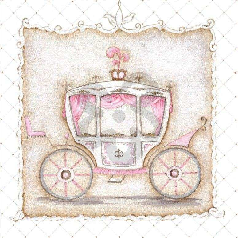 Little Princess Carriage III Prince & Princess Canvas