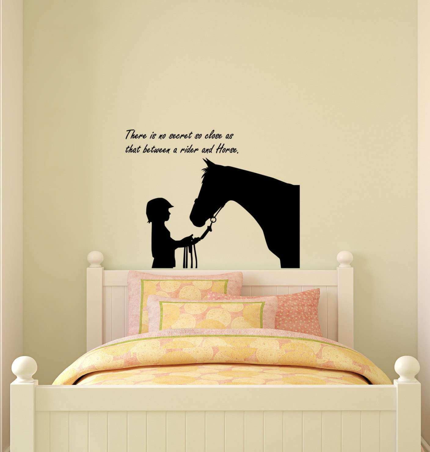 Quote Wall Decor Inspirational Horse Decal Horse Sticker Quote Decal ...