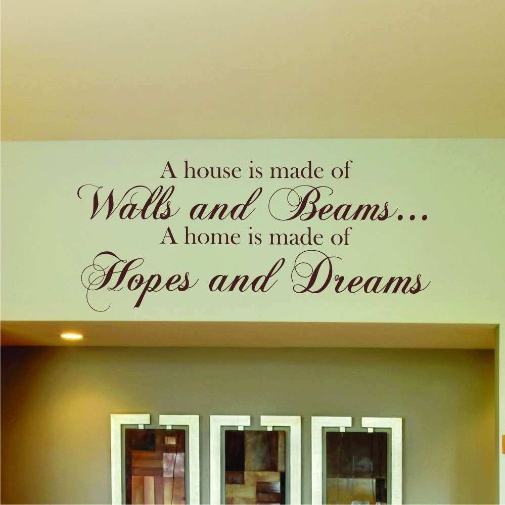 Inspirational Quote Wall Decor | Wall Art Ideas