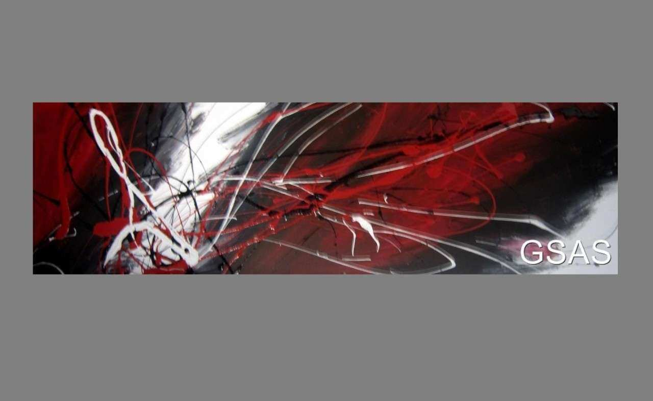 black white and red canvas art 2017 Grasscloth Wallpaper
