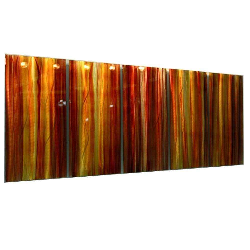 20 s Red And Yellow Wall Art