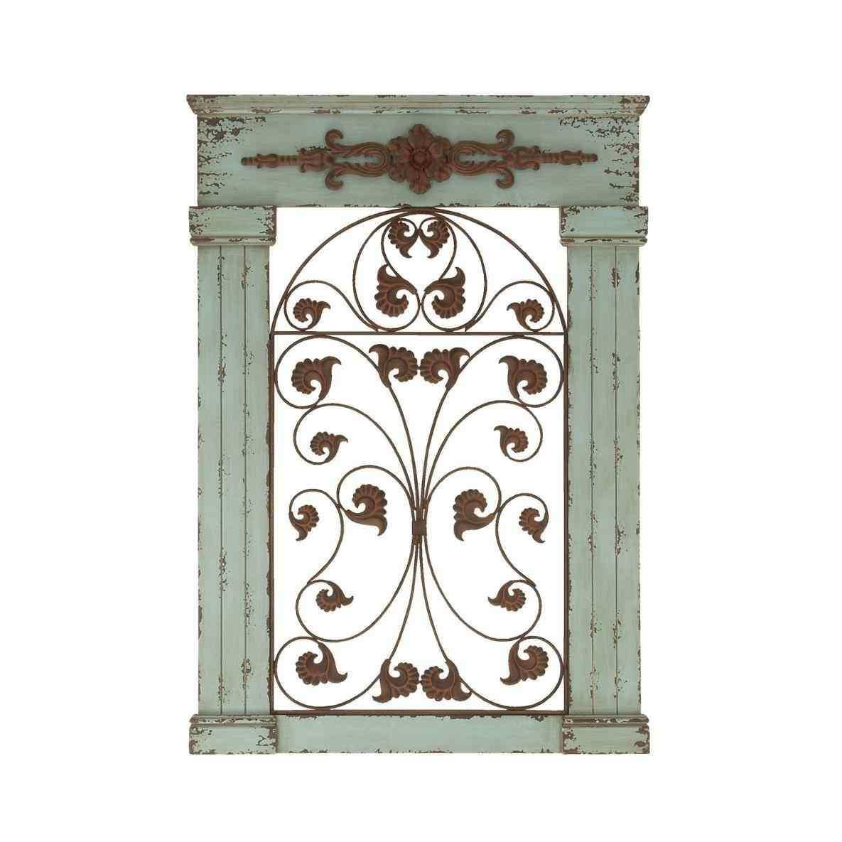 With Heavily Distressed Aged Ivory Strikingly Design Ideas