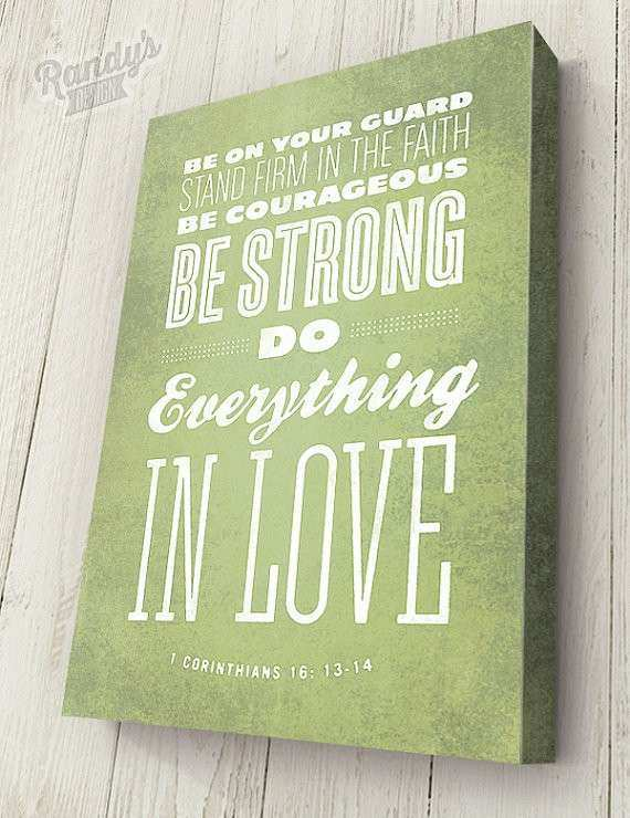 Awesome Scripture Canvas Wall Art | Wall Art Ideas