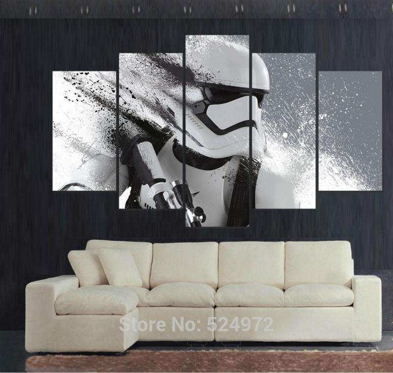 5 Panel Modern Painting Canvas Home Decor Wall Art