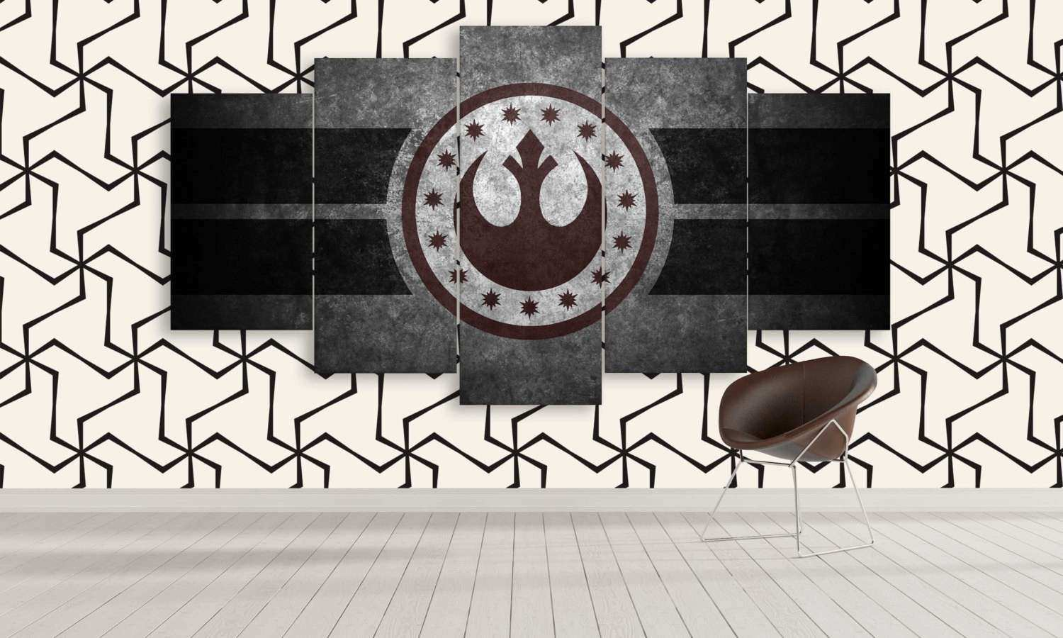 Extra Star Wars Panel Canvas Wall Art New by