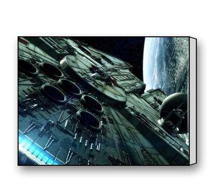 Millennium Falcon Posters & Wall Art from Star Wars
