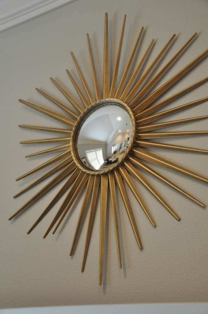 Interior & Decoration Awesome Starburst Mirrors For Your