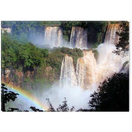 Startonight Canvas Wall Art Iguazu Waterfall Argentina USA