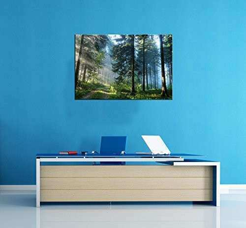 Startonight Canvas Wall Art Landscape Road in the Forest