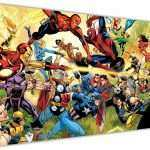 Superhero Canvas Wall Art Fresh Marvel Superhero War Canvas Pictures Wall Art Prints Home Of Superhero Canvas Wall Art