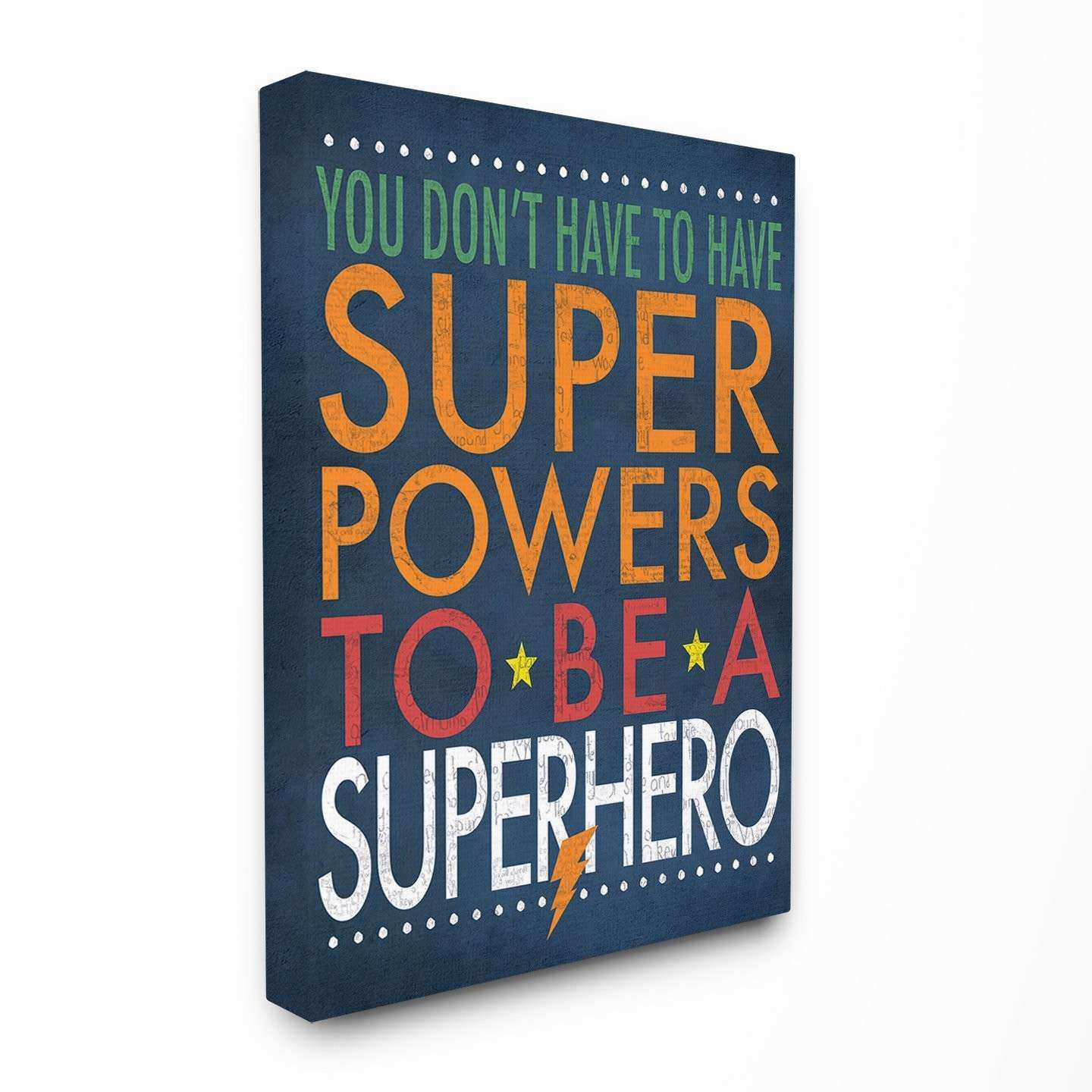 Stupell Industries The Kids Room Superhero Super Powers