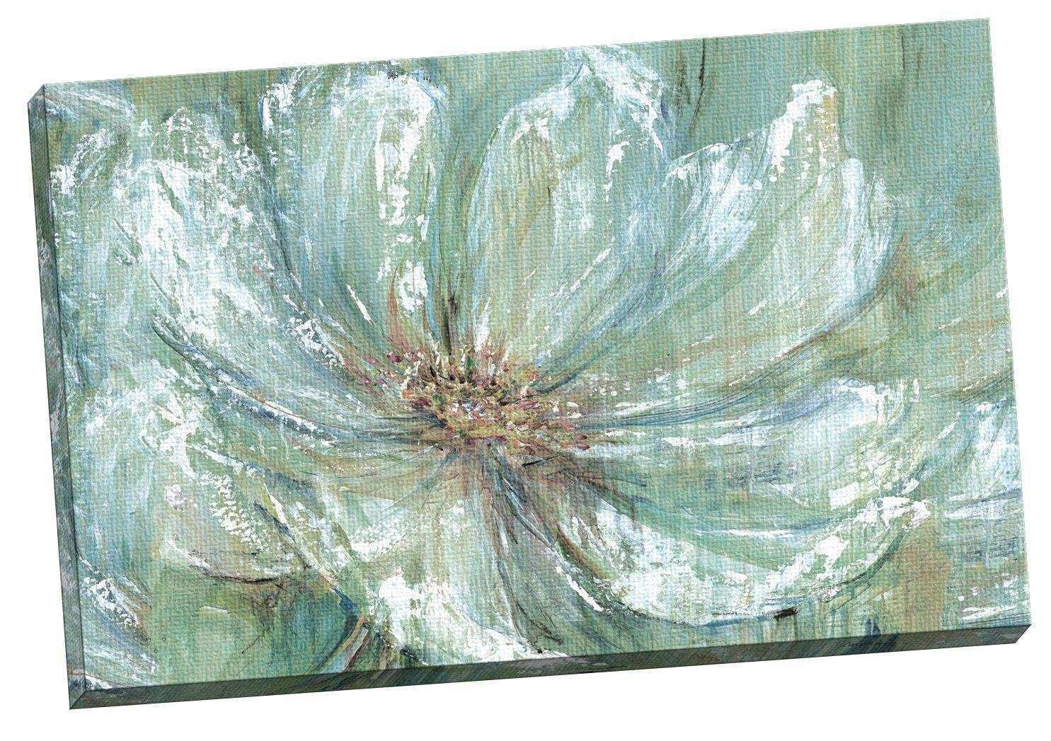 Amazon Portfolio Canvas Decor TEAL SPLASH by Carson